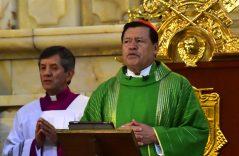 Llama Norberto Rivera a no ser cómplices del mal que hoy amenaza a la sociedad