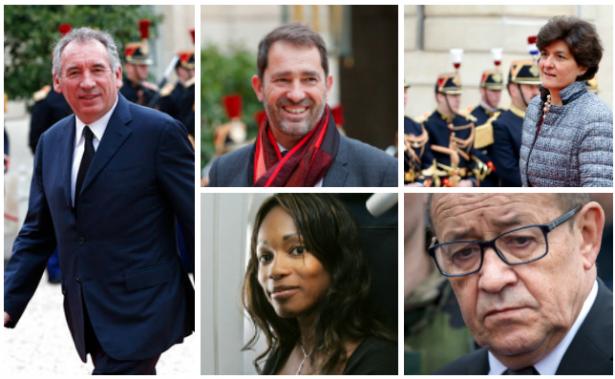Destacan tres ministros de Estado y 11 mujeres en Gobierno de Macron