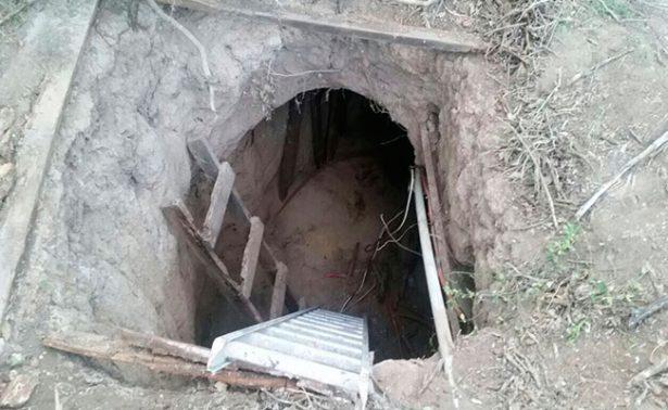 Hallan túnel inconcluso que iba al penal de Reynosa