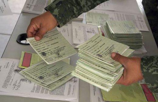 Anuncia Sedena entrega de cartillas del Servicio Militar