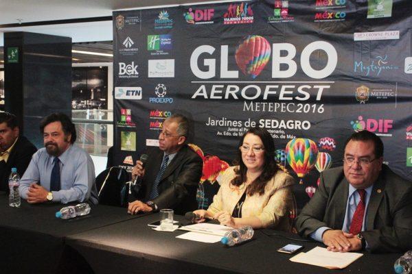 Prepara Metepec Globo Aerofest 2016
