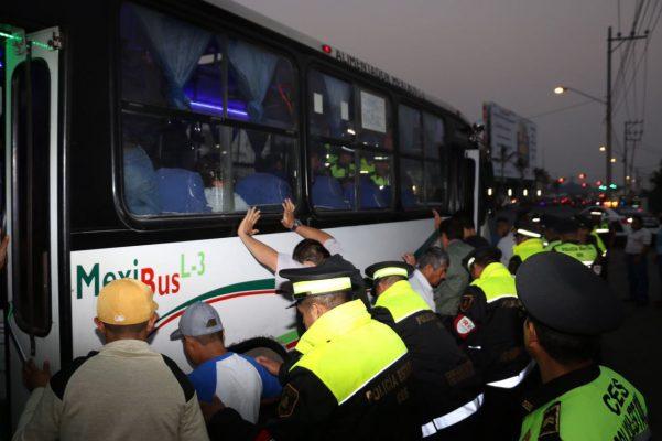 Detenidas 76 personas en operativos del Plan Tres