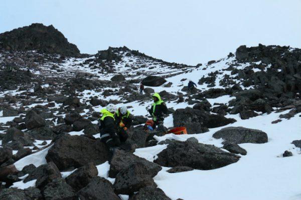 Peligroso tratar de ascender al Nevado