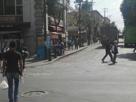 Llueven reclamos por ambulantaje en Toluca