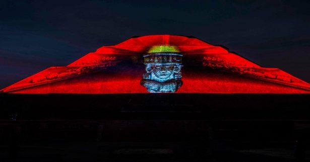 Amplian espectáculo nocturno en Teotihuacán