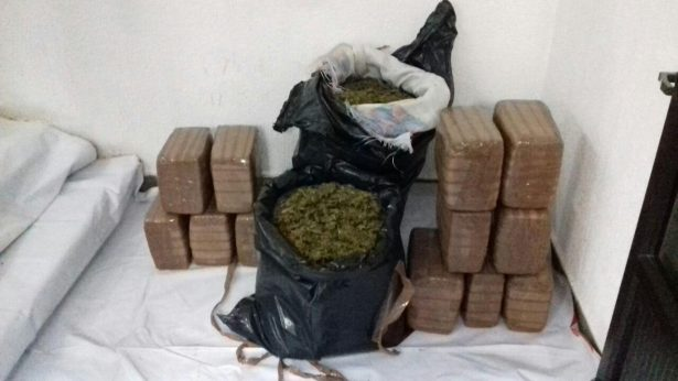Aseguran droga en Tejupilco