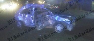 Accidente automovilístico deja un muerto