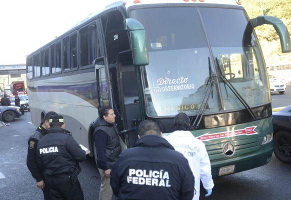 Crimen que operan en la México-Toluca, violento y organizado