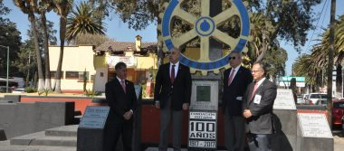 Celebran rotarios 100 años de su fundación en Toluca