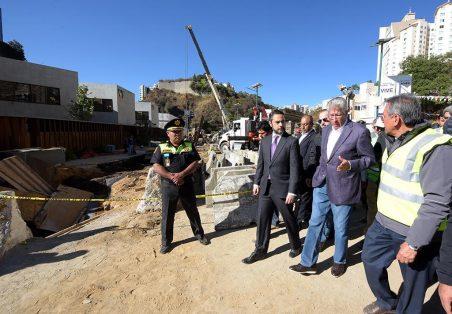 Inicia SCT peritaje en la zona de derrumbe en Huixquilucan