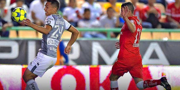 Toluca vence al León a domicilio