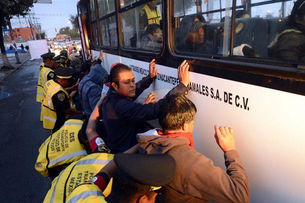 Aumenta robo con violencia a transportistas en Edomex