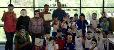 Con la mascara bien puesta celebran Día del Niño en Toluca