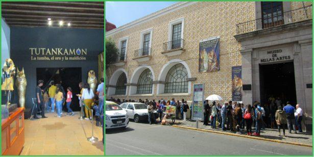 Continúa el éxito de Tutankamón en Toluca