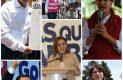Gastan candidatos 215 mdp en 47 días de campaña