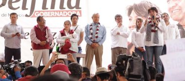Pide Delfina Gómez que cuiden las casillas en Chimalhuacán