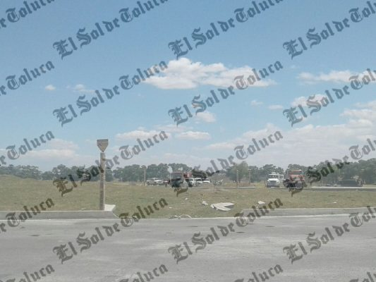 Detectan fuga de combustible en Atlacomulco