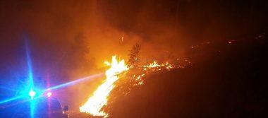 Otro incendio forestal en Temascaltepec