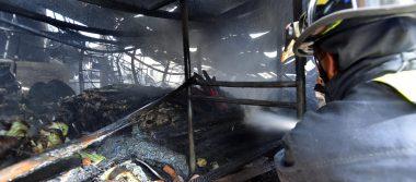 Piden investigar incendio en zona industrial de Toluca