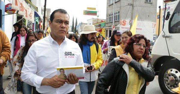 Promete Zepeda construir escuelas de educación media y superior en Edomex