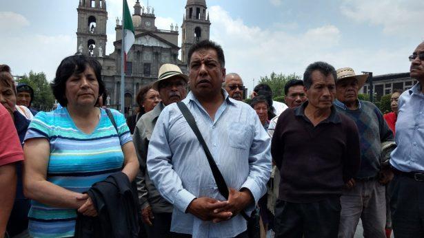 Denuncian comuneros de Ocoyoacac amenazas por exigir su pago