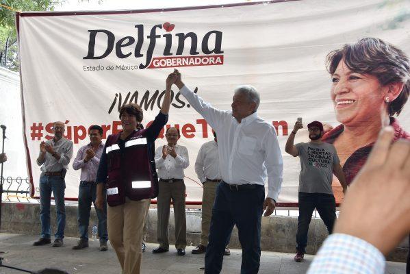 Nueva sanción a Morena y a Delfina Gómez