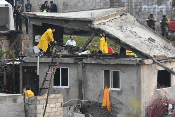 Explosión de polvorín deja dos muertos y cinco heridos en EdoMex