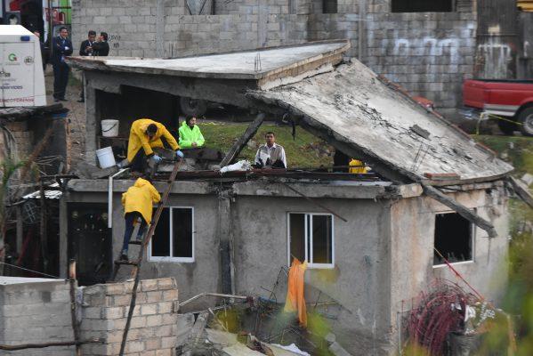 Polvorín provocó tragedia en Zinacantepec; murieron dos integrantes de una familia