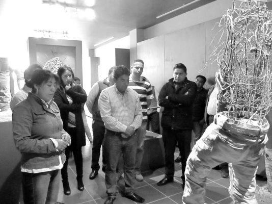 """[Galería] Presentan """"Fragmentos obra negra"""" en Museo Municipal de San Antonio La Isla"""