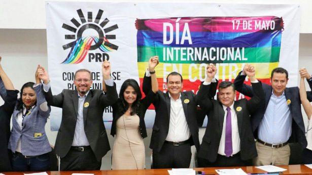 PRD reafirma su compromiso con la comunidad LGBTTI del Edomex