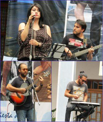 """Muestra talento Cafeína Rock en la """"Casa de las Diligencias"""""""