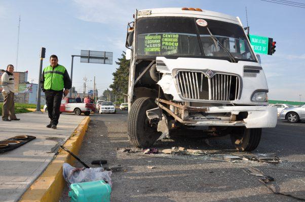 Promedian camiones cafres 60 muertes por año en Edomex