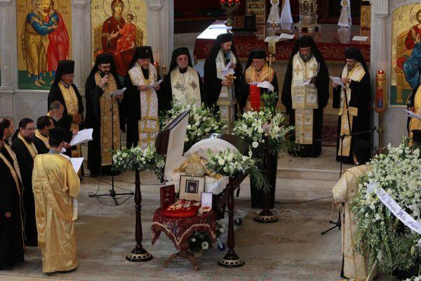 [Galería] Sepultan al arzobispo ortodoxo de México, Antonio Chedraoui