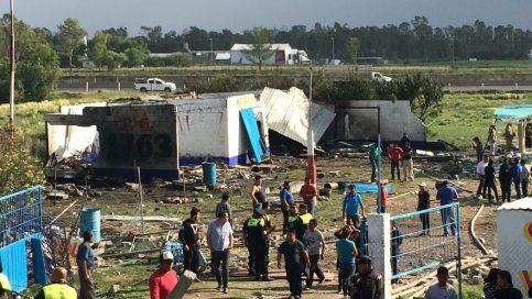 Se registra fuerte explosión en polvorín de Zumpango [VIDEO+GALERÍA]