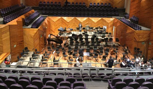 Remodelan sala de conciertos Felipe Villanueva