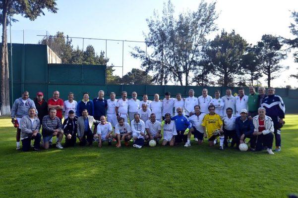 Celebraron con partido 45 años de la liga de futbol del Club Toluca