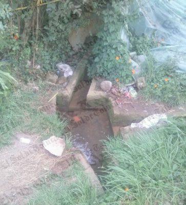 Muere niño ahogado dentro de canal en Villa Guerrero