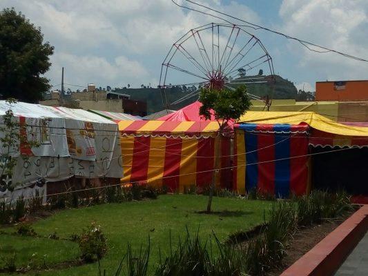 Afecta Feria del Carmen a comerciantes establecidos
