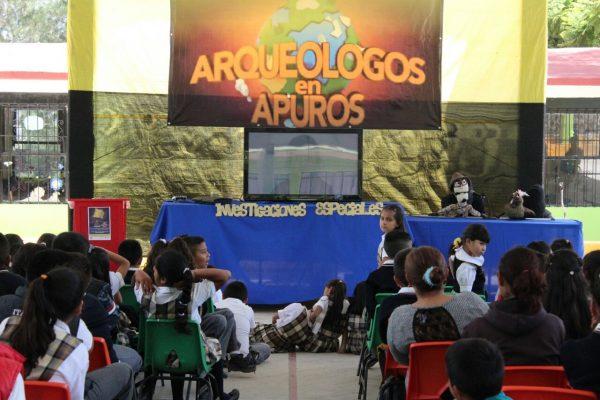 Arqueólogos en Apuros: primer noticiero arqueológico hecho por niños