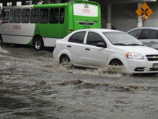 Inundaciones se concentran en 157 puntos del Edomex