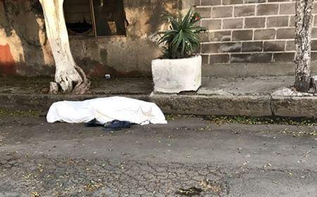Abandonan cadáver en calles de El Chamizal