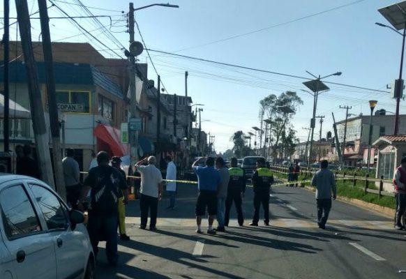 Abaten a tiros a comerciante en Ciudad Azteca