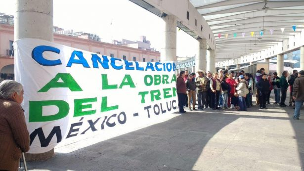 Exigen ejidatarios de San Mateo Atenco pago por sus terrenos