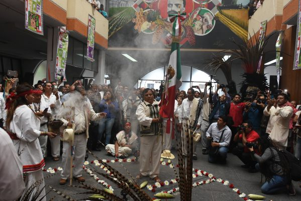 [Galería] Toma protesta nuevo gobernador indígena del Edomex