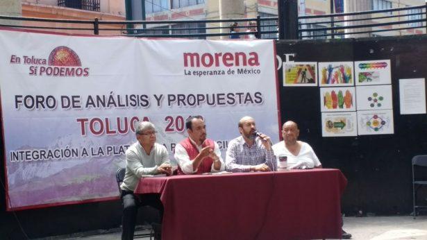 Presentan morenistas propuestas en materia de seguridad y presupuesto municipal