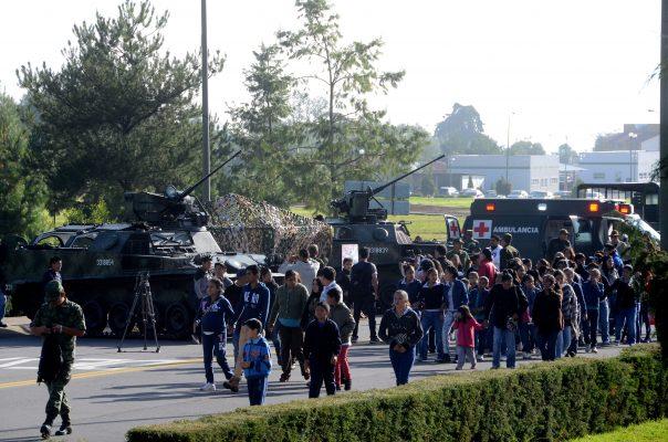 [Galería] Convive Ejército con familias mexiquenses