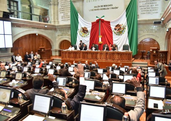 Proponen diputados eliminar fuero constitucional en Edomex