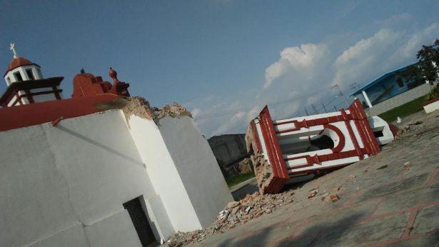 Hay más de 600 iglesias afectadas por el sismo