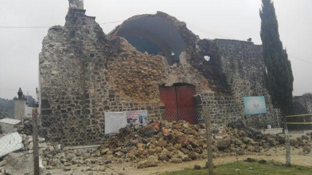 Exigen damnificados por sismo en Ecatzingo y Atlautla que no se olviden de ellos