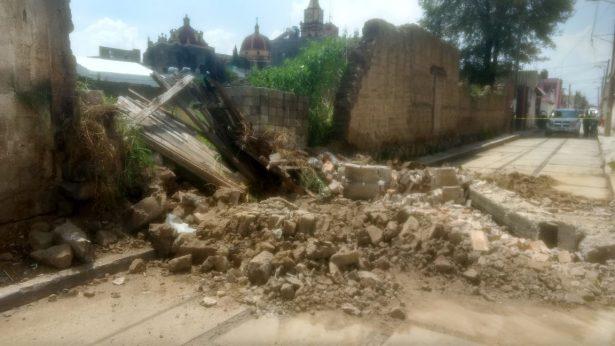 Reportan sólo daños materiales en Texcalyacac